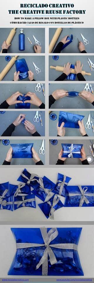 c 243 mo hacer una caja de regalo con una botella de pl 225 stico reciclado reciclado creativo diy y