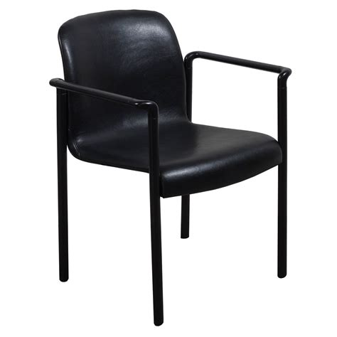 herman miller used stack chair black national office