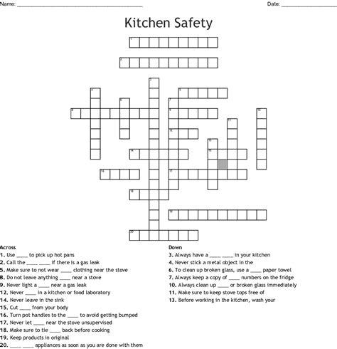 kitchen utensils crossword clue dandk organizer