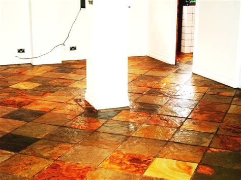 sealing slate floor cleaning and polishing tips