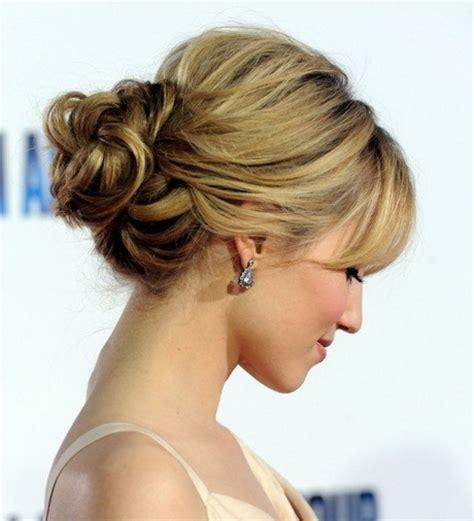 hairstyles updos  medium length hair