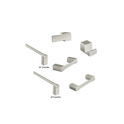 moen 90 degree faucet brushed nickel moen 90 degree accessories bundle 1 bn brushed nickel
