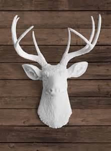 Ceramic Deer Head Wall Decor