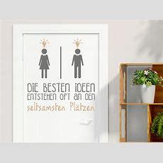 Wandtattoo Die Besten Ideen  Wc  Türschild Wandtattoode