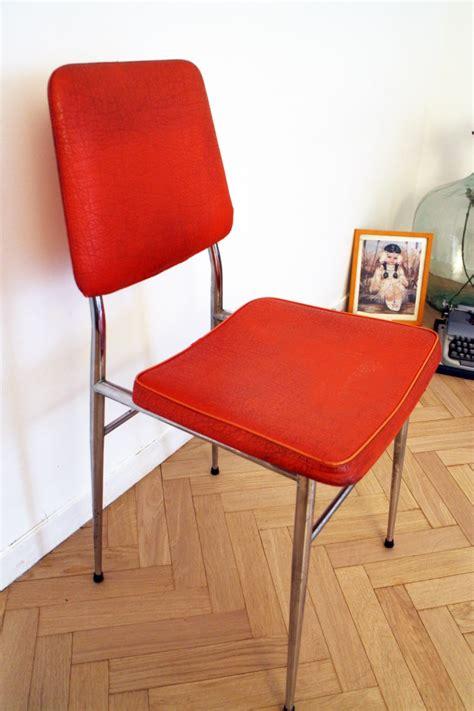 chaise vintage pas cher chaise vintage pas cher orange 70 39 s luckyfind