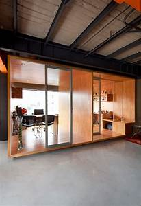 Ideas Interior Office Partitions with Wood by Arquitectura