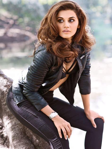 beautiful actress shooting kiss actress taapsee pannu maxim hot photo shoot ultra hd