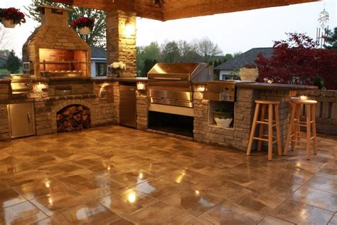 outdoor kitchens  wood fire grill memphis grills