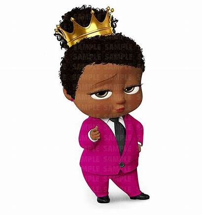 Boss African American Clipart Cake Topper Clipground