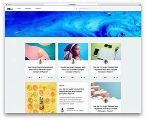 Bona - Free Blog Website Templates