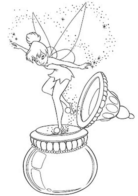 easy  print fairy coloring pages tulamama
