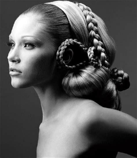 elaborate braids   hair