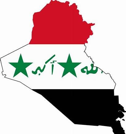 Iraq Flag Kuwait Map 1990 1991 Occupied