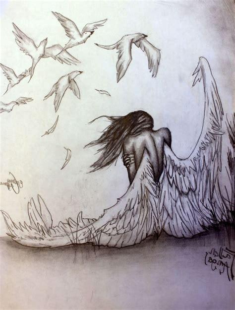 Best 25+ Drawings Of Angels Ideas On Pinterest Mythology