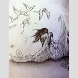 Fallen Angel Drawings | 736 x 972 jpeg 98kB