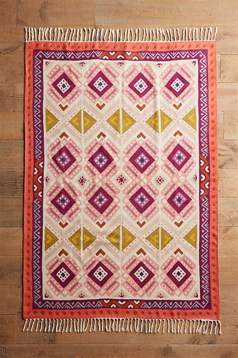 Anthropologie Rugs by Kaleidoscopic Blooms Rug Anthropologie