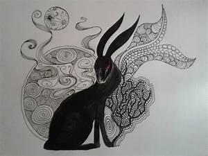 Pin by Nibi Nix on fandom | Rabbit tattoos, Bunny tattoos ...