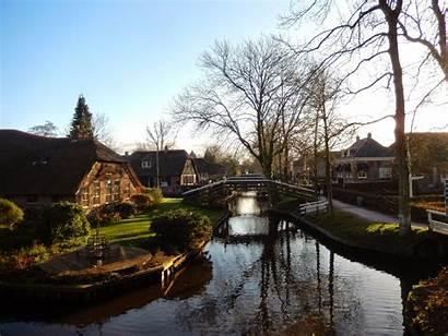 Giethoorn Village Netherlands Venice Overijssel North Travel