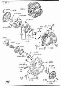 2002 Mazda Protege 5 Hose  Oil