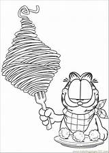 Garfield Coloring Spaghetti Pages Eating Cake Colour Pan Paint Printable Coloringpages101 Cartoons Cartoon Drawing Paper Diabetesdaily Silhouettes Colorir Pintar Drawings sketch template
