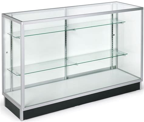 glass display cabinet glass cabinet 5 foot display counter laminate door