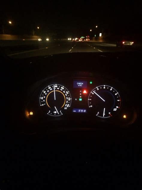 what is vsc light check vsc check engine light traction light clublexus