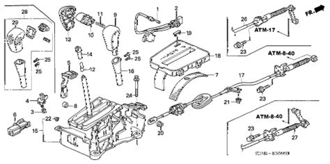Honda Online Store Accord Select Lever Parts