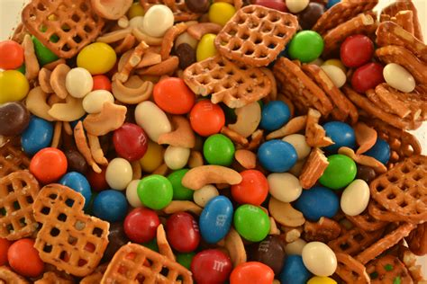 chocolate covered trail mix or in our family mix teaching my