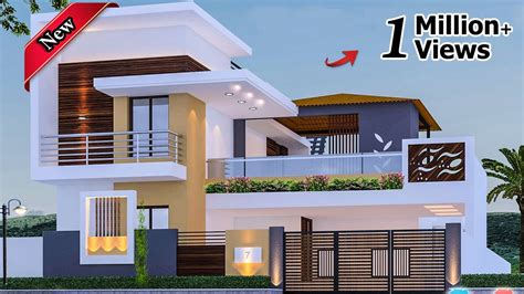 30 beautiful modern house front elevation design double floor house 2 floor house elevation
