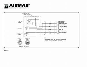 Airmar Wiring Diagram Garmin B744 8 Pin  D S T