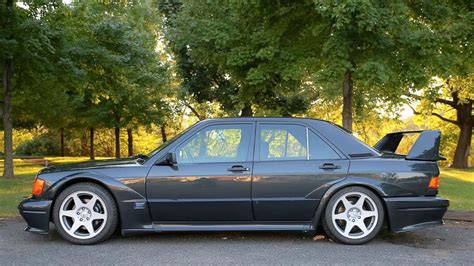 That's pretty fair considering that only 500. 1990 Mercedes-Benz 190E Cosworth Evo II on eBay with 29,000 miles