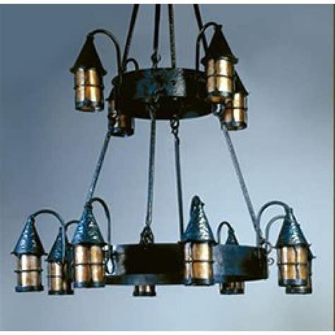 Mica Chandelier by Mica Ls Lf203 12 Cottage Iron Chandelier Tudor Lighting