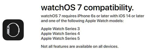 Apple Confirms Apple Watch Series 3 Or Newer Is Needed For ...