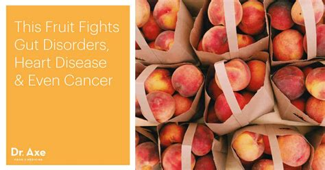 peach nutrition benefits interesting facts dr axe
