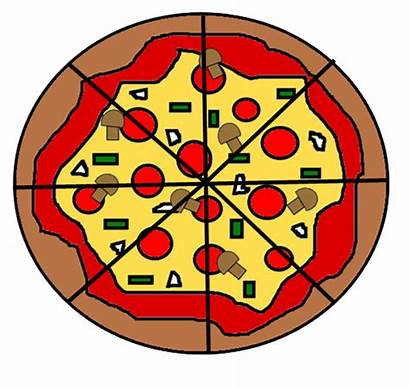 Pizza Fractions Eights Five Friday Very Watermelon