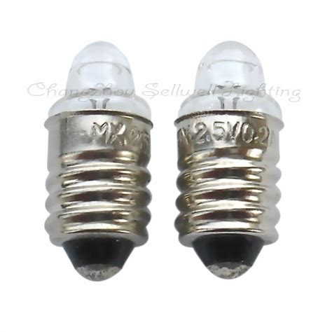 e10 2 5v 0 2a miniature l bulb light a012 in