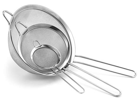 cuisinart strainer set  sale cutlery
