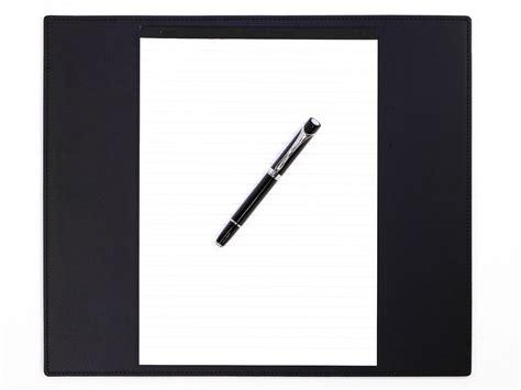 sous mains bureau petit sous mains de bureau en cuir noir