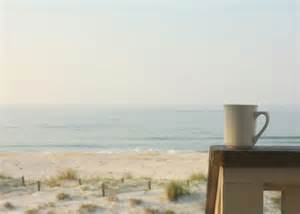 Beach Morning Coffee