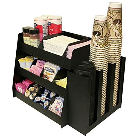This durable mug rack holds up to 8 coffee mugs at once, ensuring there's always a mug when needed. Office Coffee Station: Amazon.com