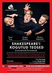 Kuressaare Teater  Shakespeare U00b4i Kogutud Teosed  U2014 Elva Turism