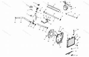 Polaris Atv 2002 Oem Parts Diagram For Cooling System