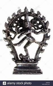 Statue of indian hindu god dancing Shiva Nataraja ...