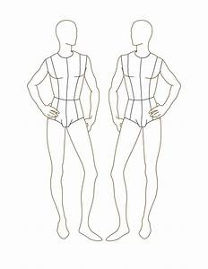 Croqui Fashion Model Templates | Male Fashion Croquis ...