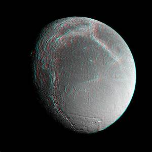 Space Images | Dione Anaglyph