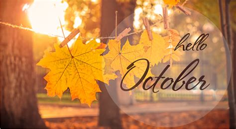10 'Hello October' Images to Post on Social Media ...