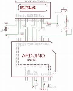 Leakage Detection Using Infra Red Circuit Diagram