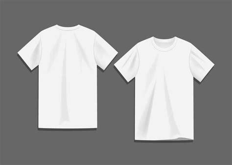 blanco camiseta en blanco plantilla vector descargue