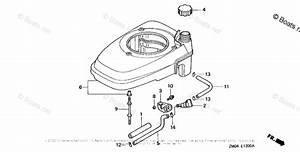 Honda Small Engine Parts Gcv160 Oem Parts Diagram For Fan Cover