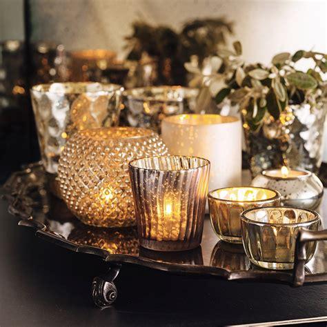 3998 tea light votives tealight holders the white company mercury glass
